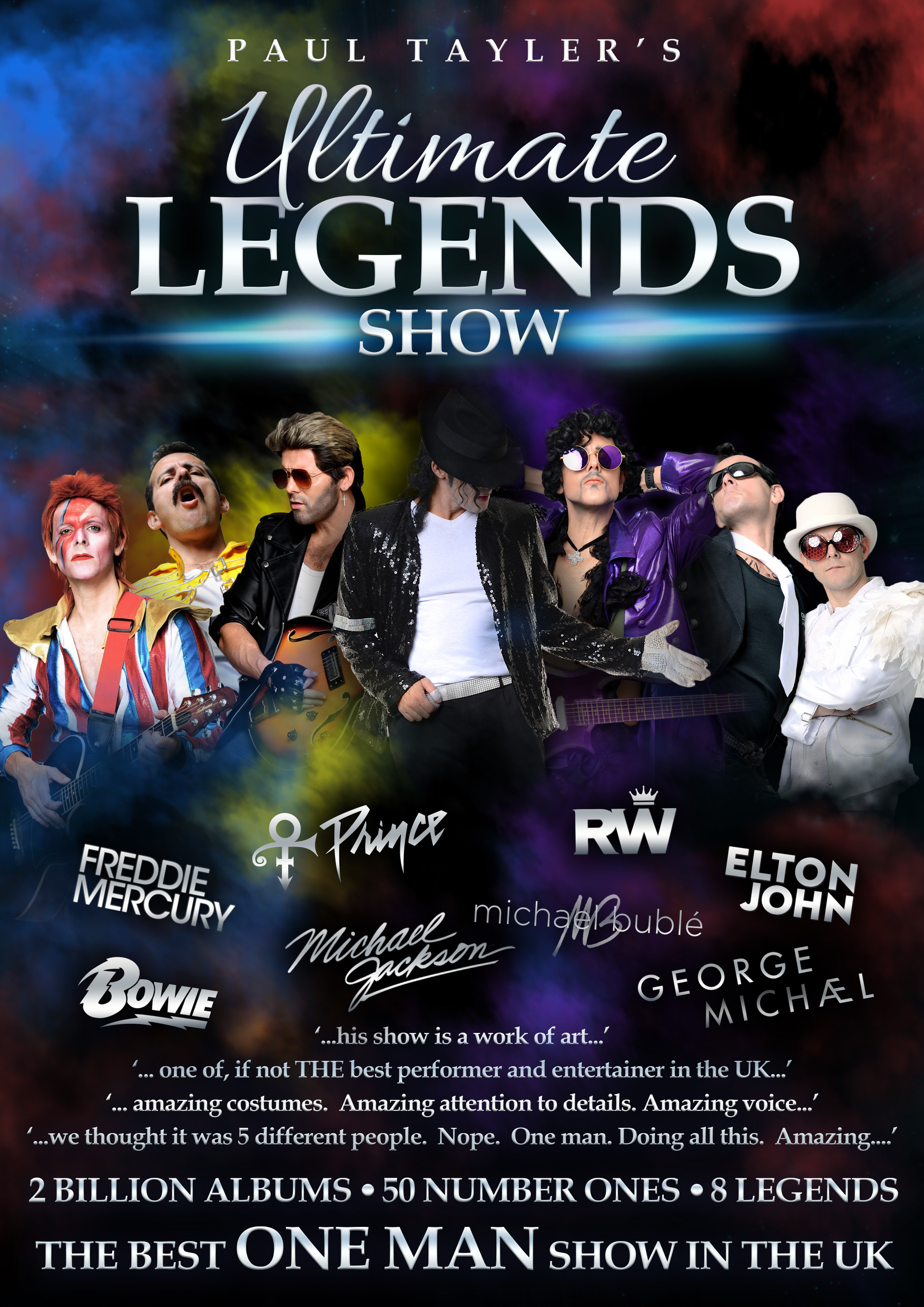 The Ultimate Legends Tribute Show